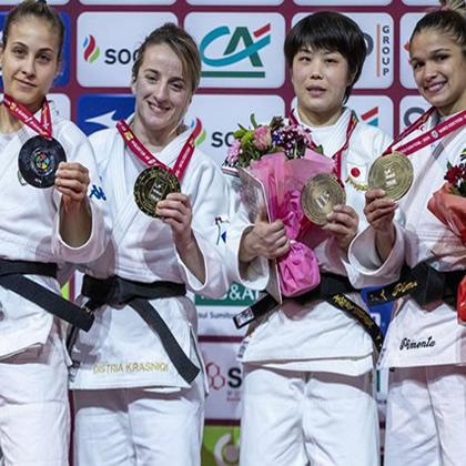 Giuffrida. La Tigre è tornata. Una medaglia d'argento al più importante torneo di judo continentale non è cosa da poco.