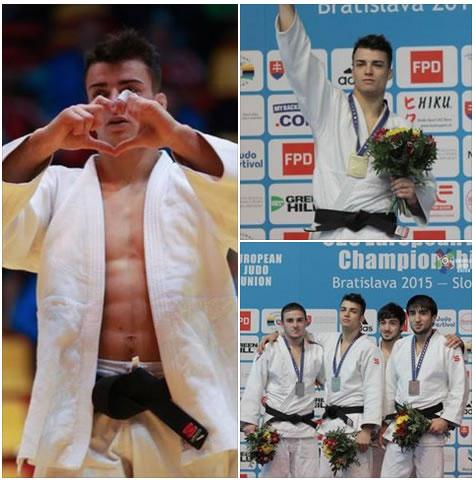 JUDO - Campionati Europei Under 23, è ORO per Fabio Basile