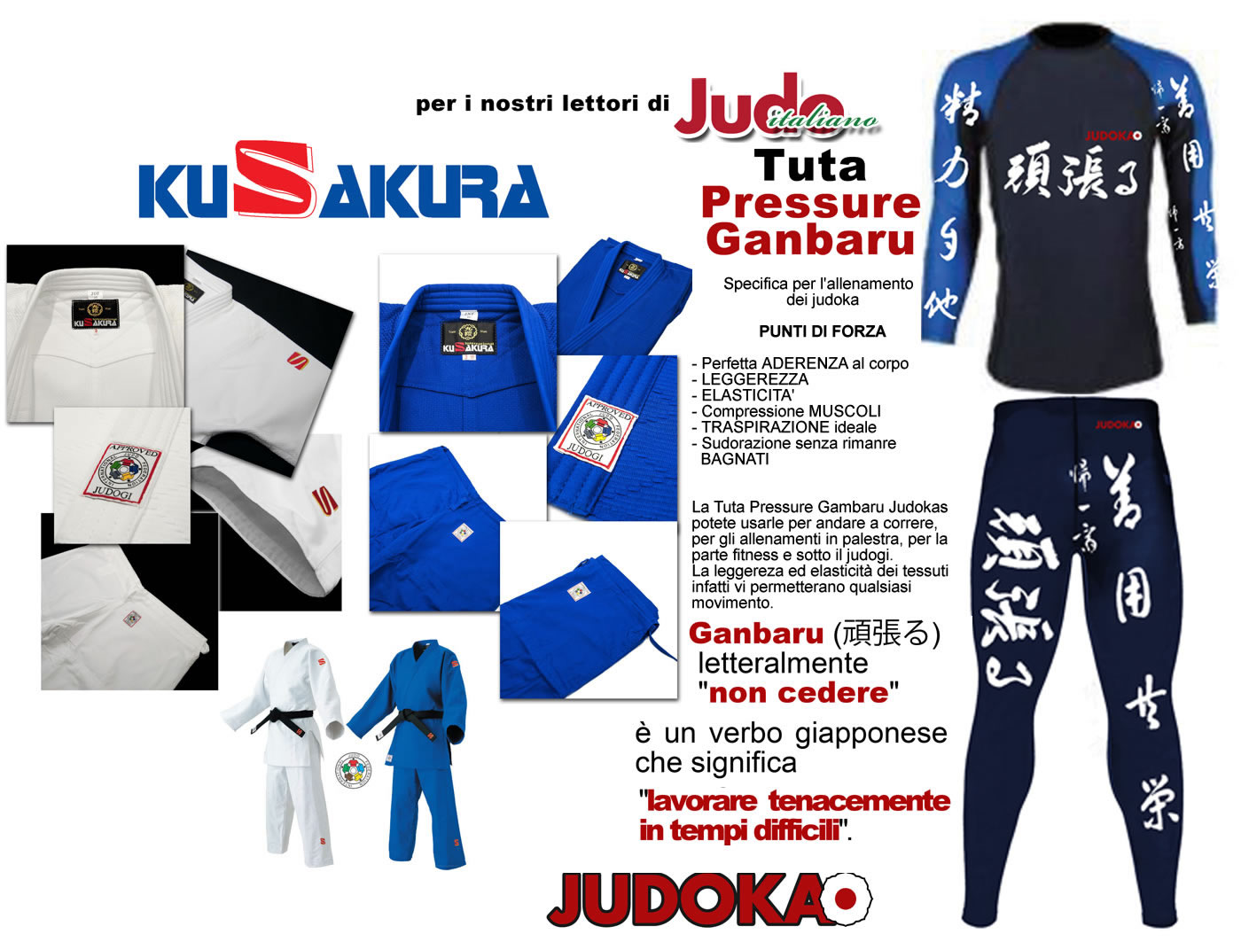 Accessori di Judo