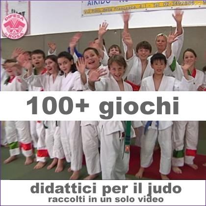 100+ giochi didattici per il Judo